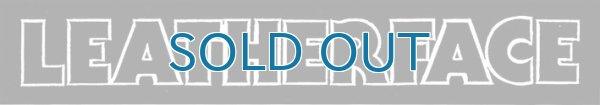 画像1: Leatherface / Logo ステッカー (1)
