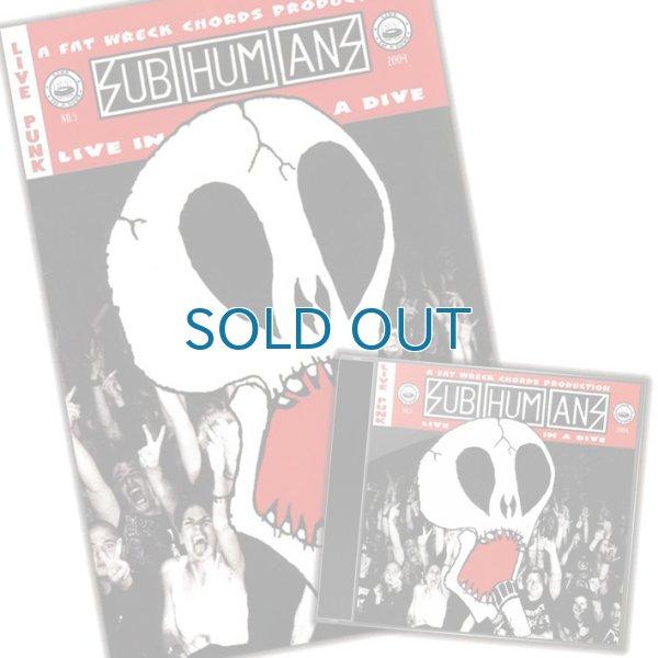 画像1: Subhumans / Live In A Dive [Comic Book セット] (1)