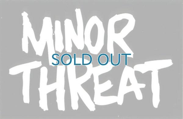 画像1: Minor Threat / Logo ステッカー (1)