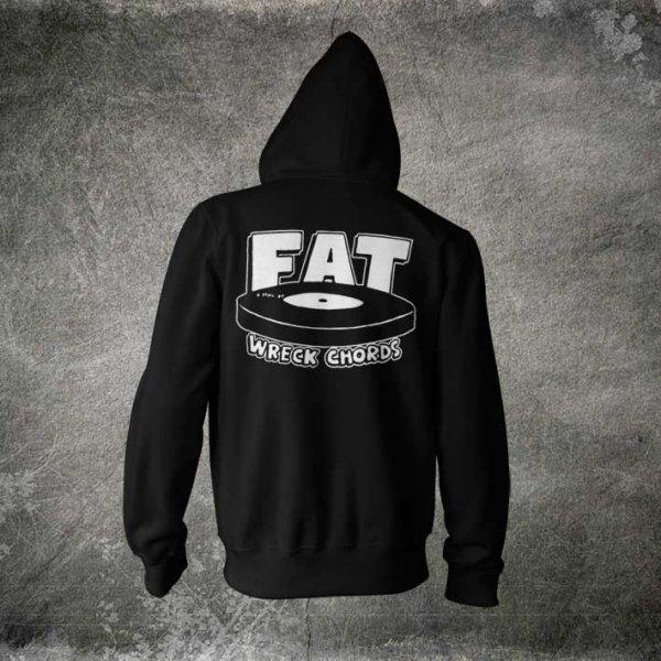 画像1: Fat Wreck Chords / Logo Zipパーカー (1)