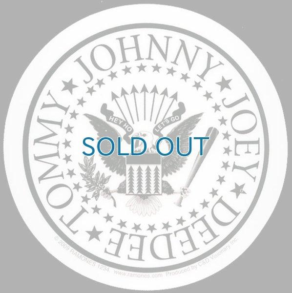 画像1: Ramones / Round Presidential Logo ステッカー (1)