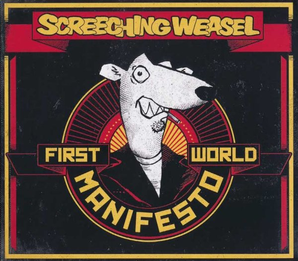 画像1: Screeching Weasel / First World Manifest (1)