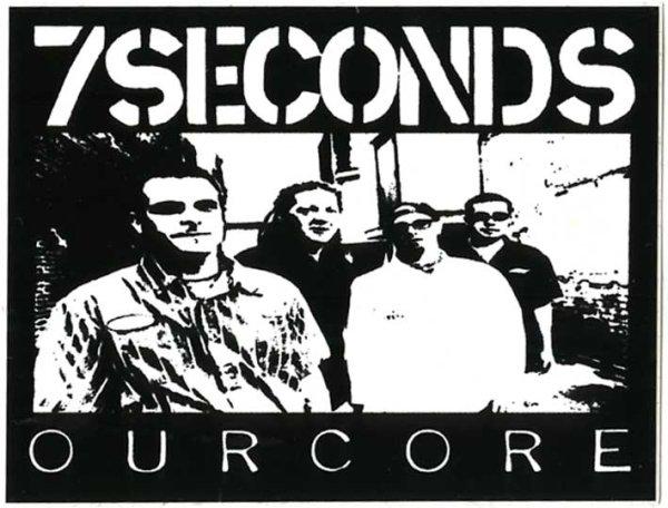 画像1: 7 Seconds / Ourcore ステッカー (1)