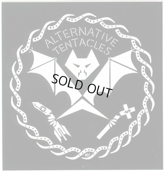 画像1: Alternative Tentacles / Logo ステッカー (1)