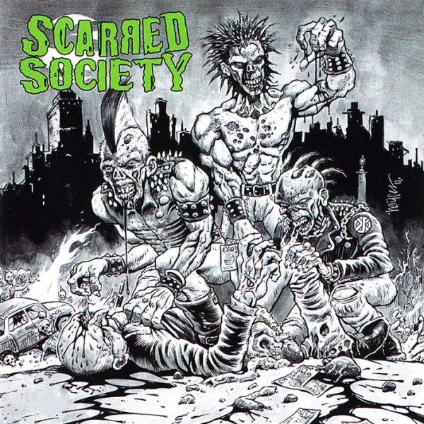 画像1: Scarred Society / Scarred Society (1)