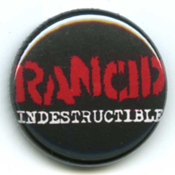 画像1: Rancid / Indestructible バッヂ (1)
