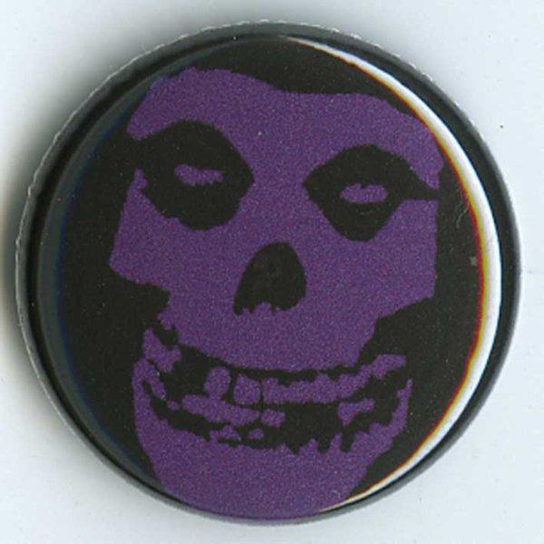 画像1: The Misfits / Purple Skull バッヂ (1)