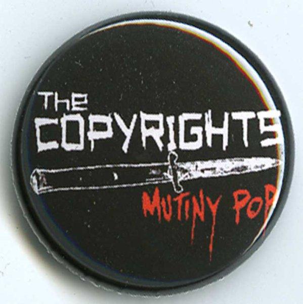 画像1: The Copyrights / Mutiny Pop バッヂ (1)