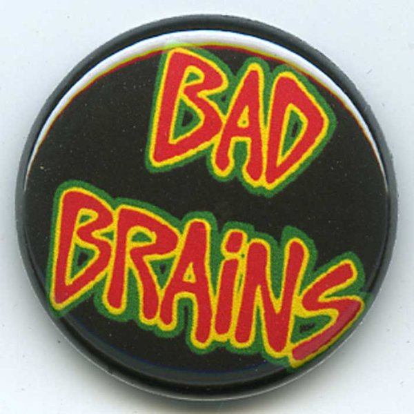 画像1: Bad Brains / Red Logo バッヂ (1)