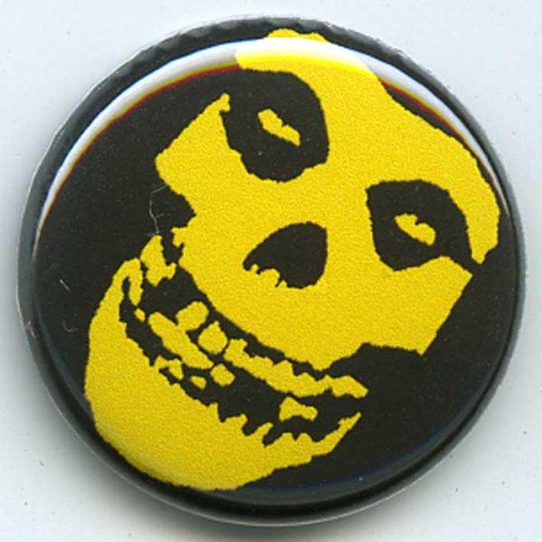 画像1: The Misfits / Yellow Skull バッヂ (1)