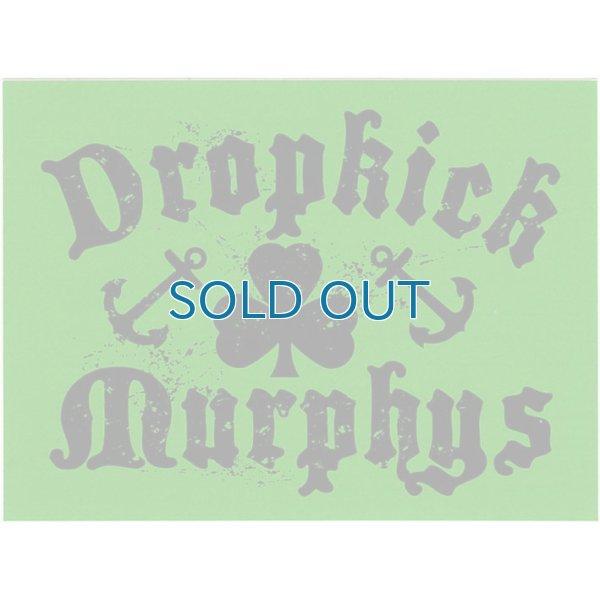 画像1: Dropkick Murphys / Shamrock & Anchor ステッカー (1)