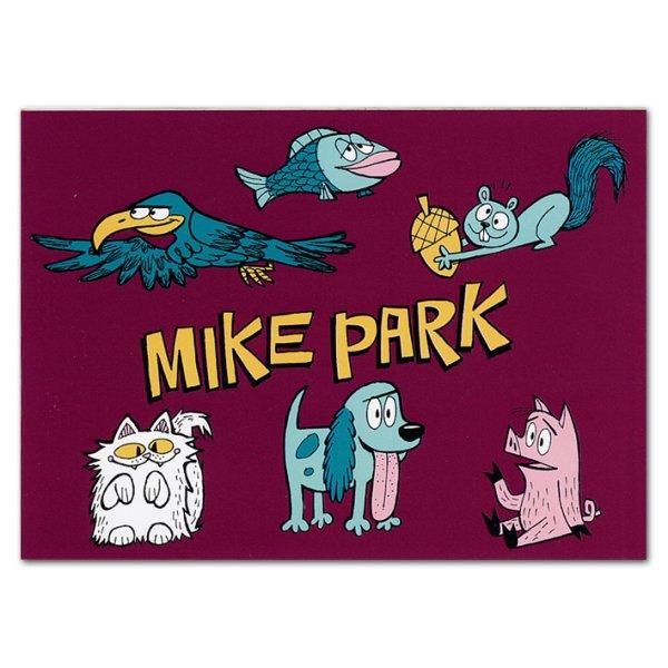 画像1: Mike Park / Animal ステッカー (1)