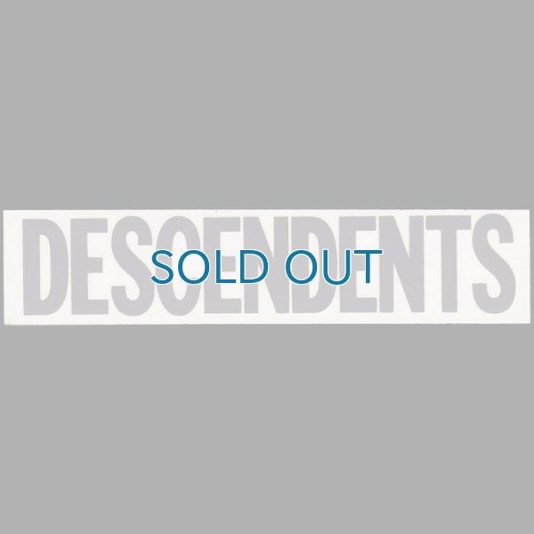画像1: Descendents / Gray Logo ステッカー (1)