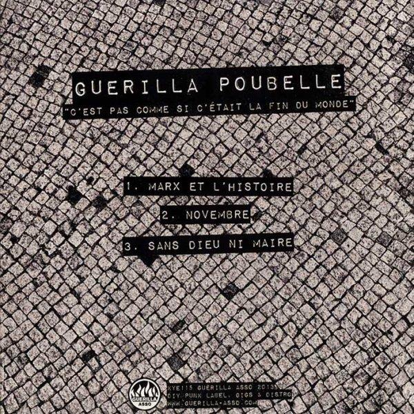 画像1: Guerilla Poubelle / C'est Pas Comme Si C'était La Fin Du Monde [EP] (1)