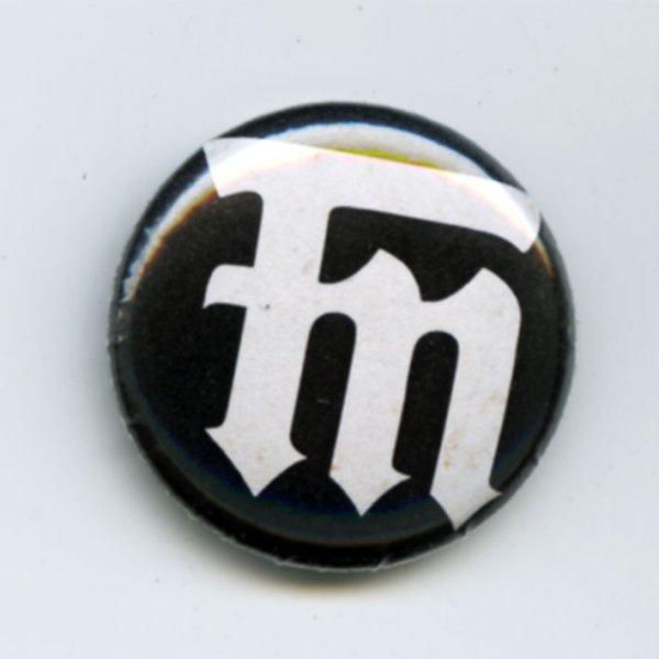 画像1: Flogging Molly / FM Logo バッヂ (1)