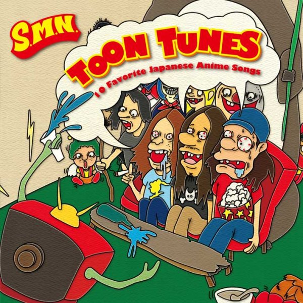 画像1: S.M.N. / TOON TUNES -10 Favorite Japanese Anime Songs- (1)