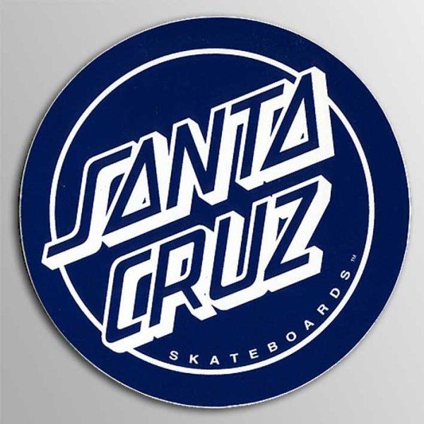 """画像1: Santa Cruz Skateboards / 3"""" Santa Cruz Reverse Dot ステッカー (1)"""