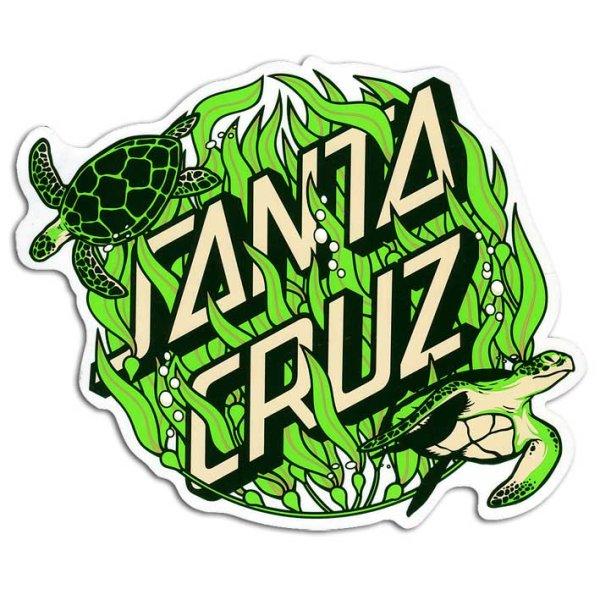 """画像1: Santa Cruz Skateboards / 6"""" Santa Cruz Kelp Dot ステッカー (1)"""