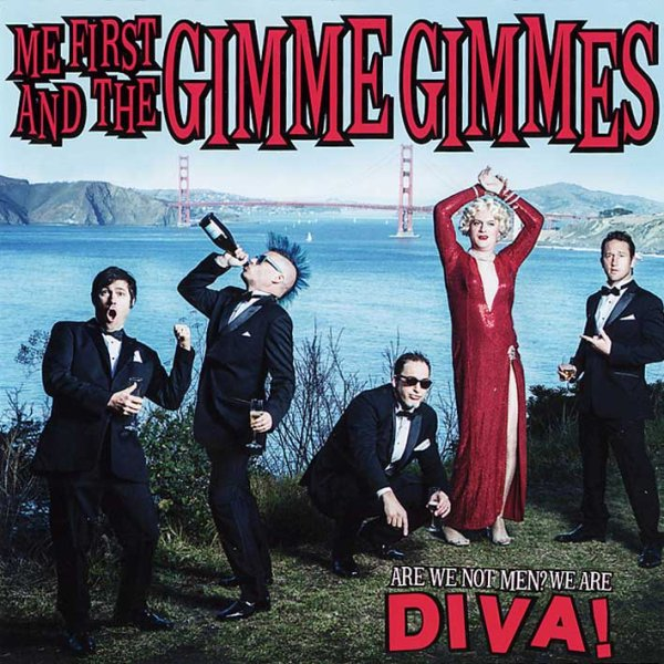 画像1: Me First And The Gimme Gimmes / Are We Not Men? We Are Diva! (1)