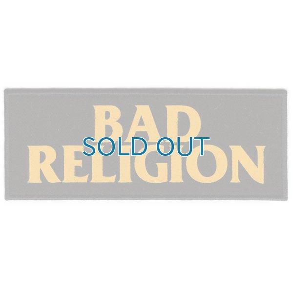 画像1: Bad Religion / Orange Logo Embroidered パッチ (1)
