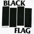 画像2: Black Flag / Logo With Bars (White) T/S (2)
