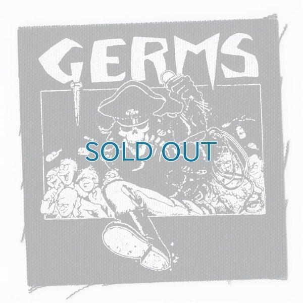 画像1: Germs / Skeleton In Leather Cloth パッチ (1)