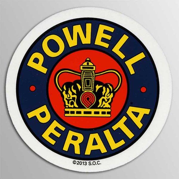 """画像1: Powell Peralta Skateboards / 3"""" Supreme ステッカー (1)"""