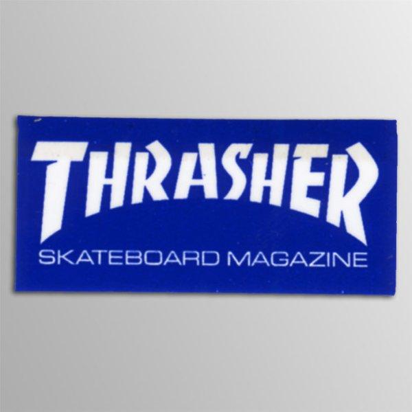 画像1: Thrasher Magazine / Thrasher Logo Sticker BL ステッカー (Mini) (1)