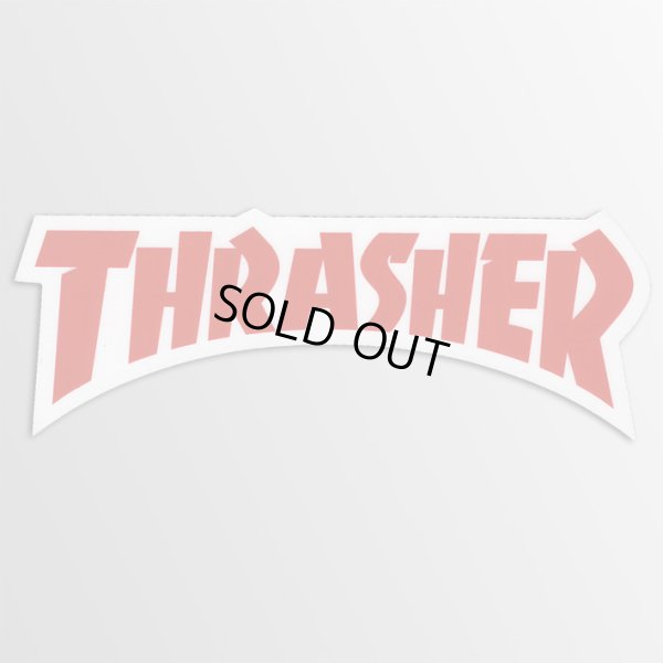 画像1: Thrasher Magazine / Thrasher Die Cut Logo RD ステッカー (1)