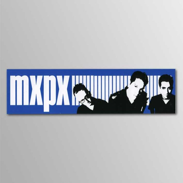 画像1: MXPX / Band With Logo ステッカー (1)