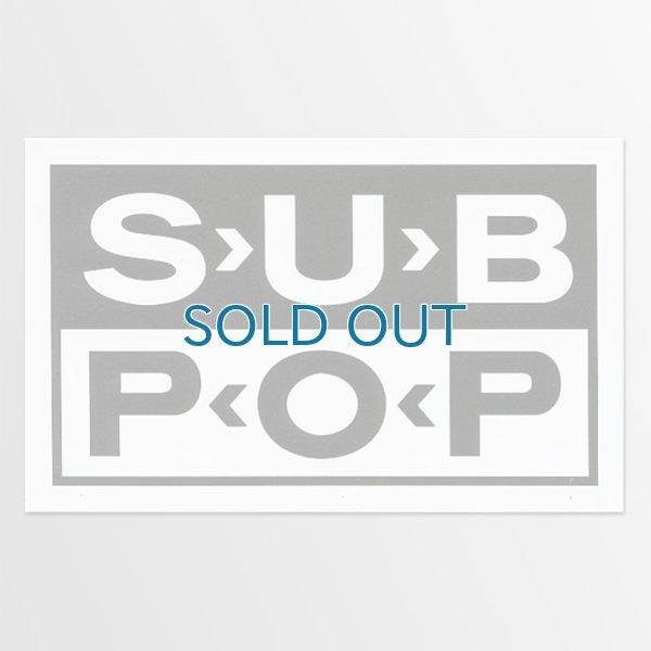 画像1: Sub Pop / Logo ステッカー (1)