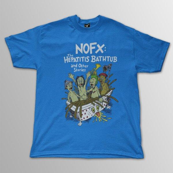 画像1: NOFX / Bathtub Tour T/S (1)