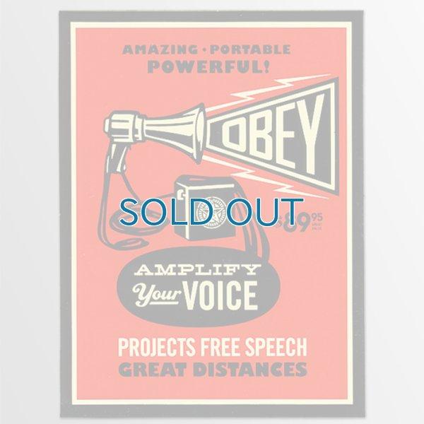 画像1: Obey / Powerful ステッカー (1)