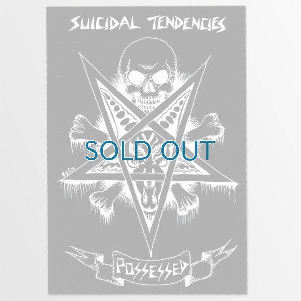 画像1: Suicidal Tendencies / Possessed Skateboard Music BK ステッカー (1)
