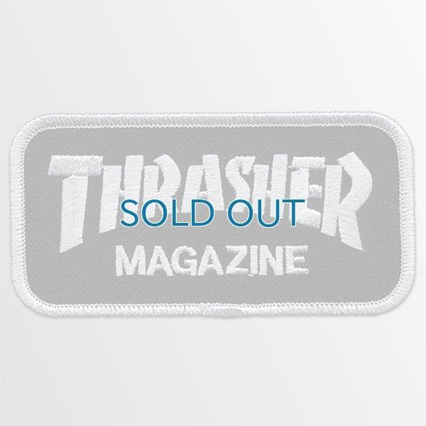 画像1: Thrasher Magazine / Logo Skateboard BK パッチ (1)