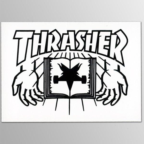 画像1: Thrasher Magazine / Hand ステッカー (1)