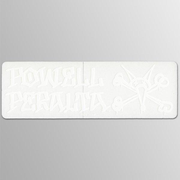 画像1: Powell Peralta Skateboards / Bones Ripper Bumper WH ステッカー (1)