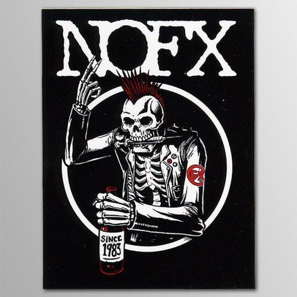 画像1: NOFX / Old Skull 2 ステッカー (1)