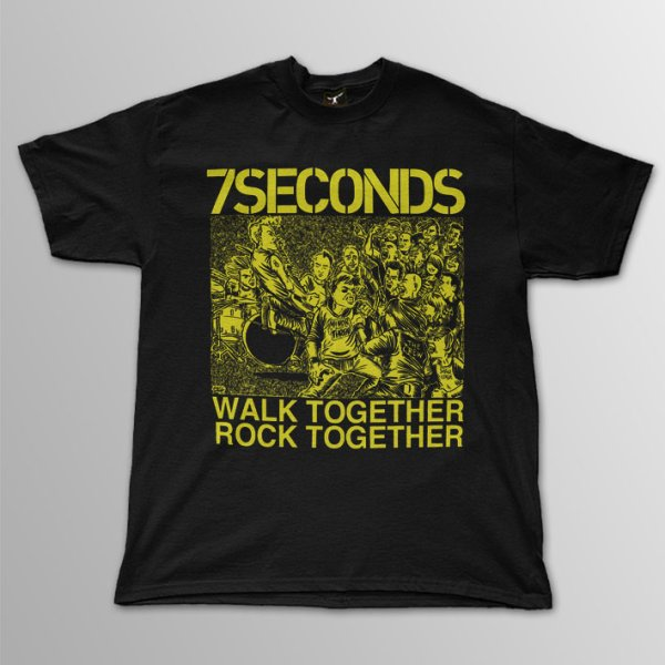 画像1: 7 Seconds / Walk Together, Rock Together T/S (1)