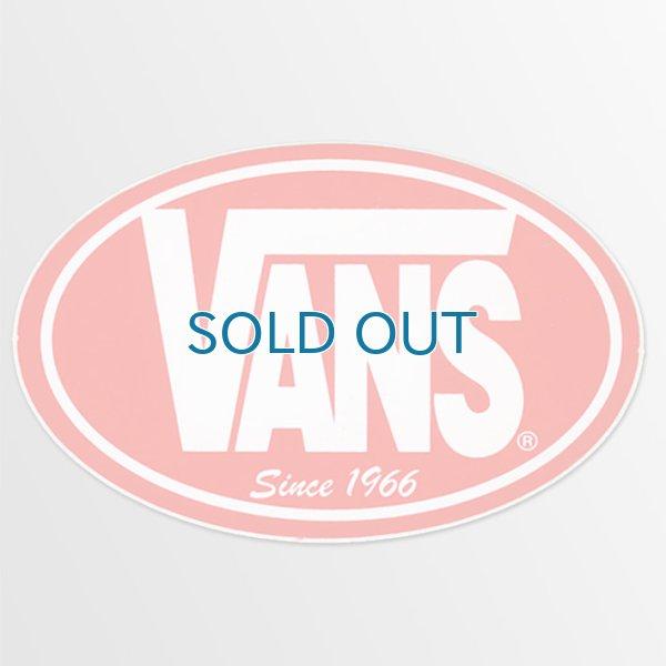 画像1: Vans Shoes/ Circle レッド ステッカー (1)