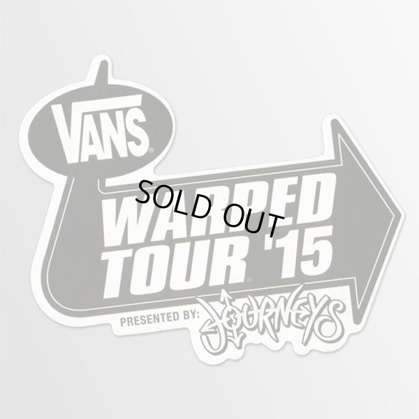 画像1: Vans Shoes / Warped Tour '15 ステッカー (1)