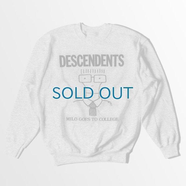 画像1: Descendents / Milo Goes to College グレー スウェット (1)
