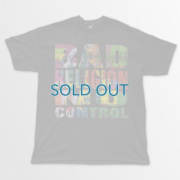 画像1: Bad Religion / No Control BK T/S (1)