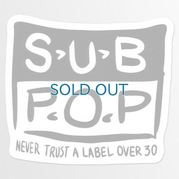 画像1: Sub Pop / Hand Logo ステッカー (1)