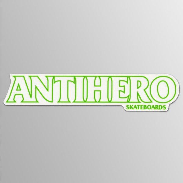 画像1: Anti-Hero Skateboards / Bumper ステッカー  [グリーンLine] (1)