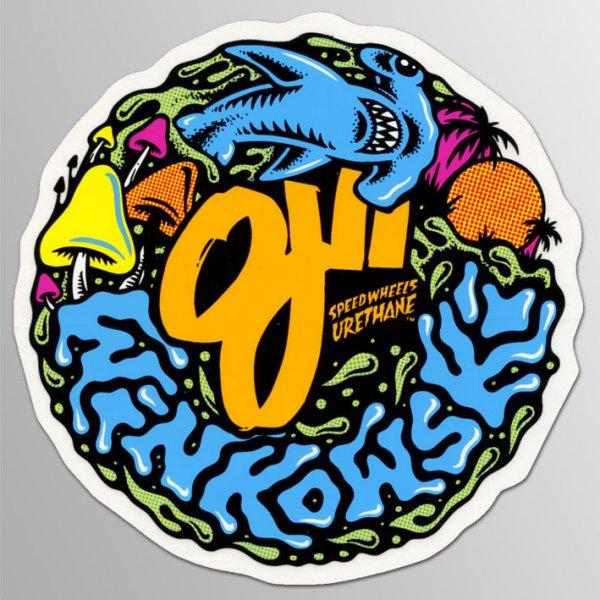 画像1: OJ II Wheels / Winkowski ステッカー (1)