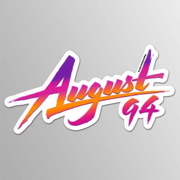 画像1: Almost / August 1994 ステッカー (1)