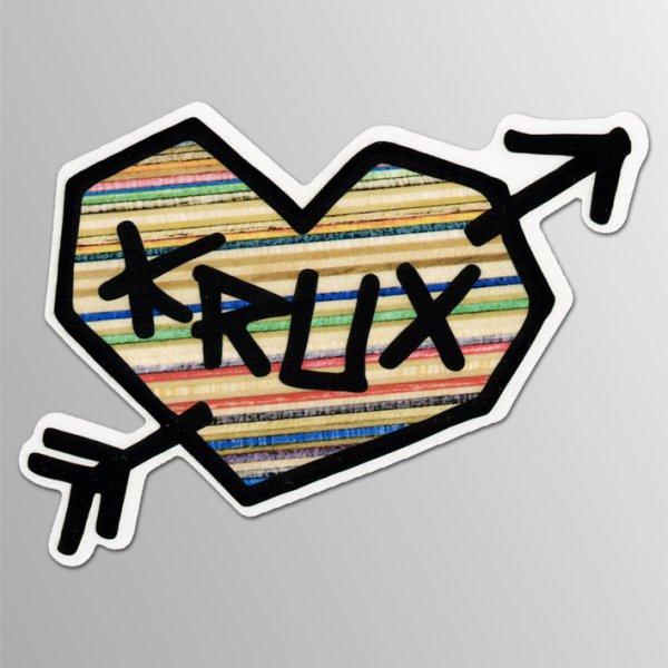 画像1: Krux Skateboard / Hurt ステッカー (1)