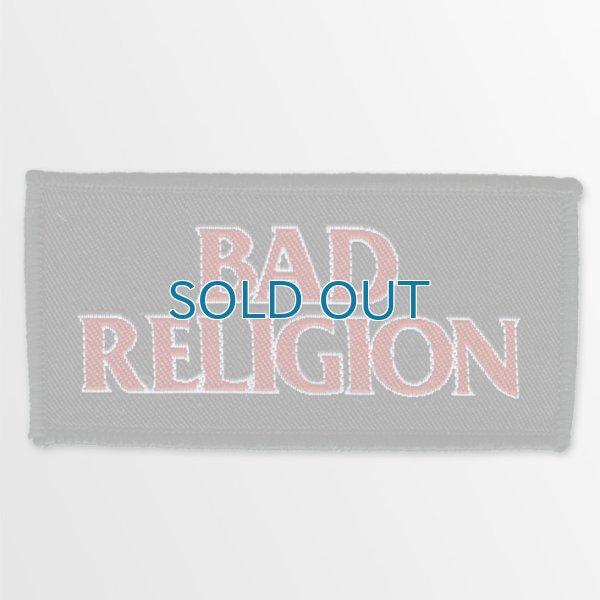 画像1: Bad Religion / Red Logo パッチ (1)