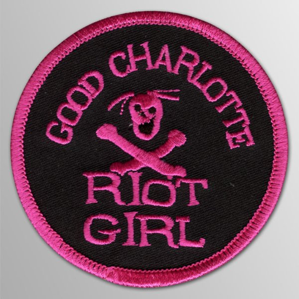画像1: Good Charlotte / Riot Girl パッチ (1)